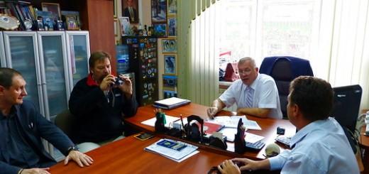 Встреча с администрацией Тюмени
